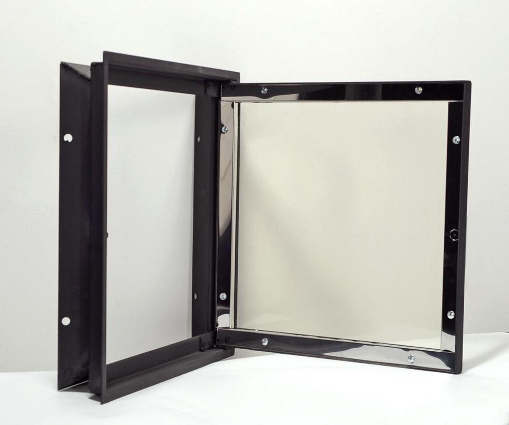 Дверци каминные металлические 520х740мм. - 2