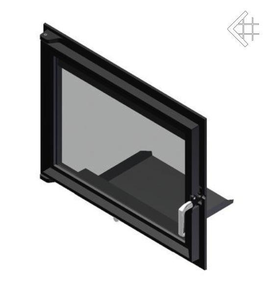 Дверцы для камина Zuzia 515x652 мм
