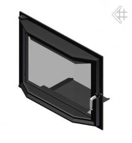 Призматические дверцы для камина  Amelia 607x750 мм