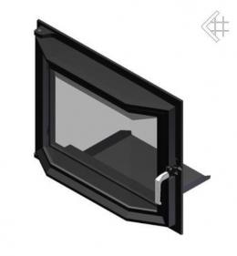 Призматические дверцы для камина  Maja 491x600 мм